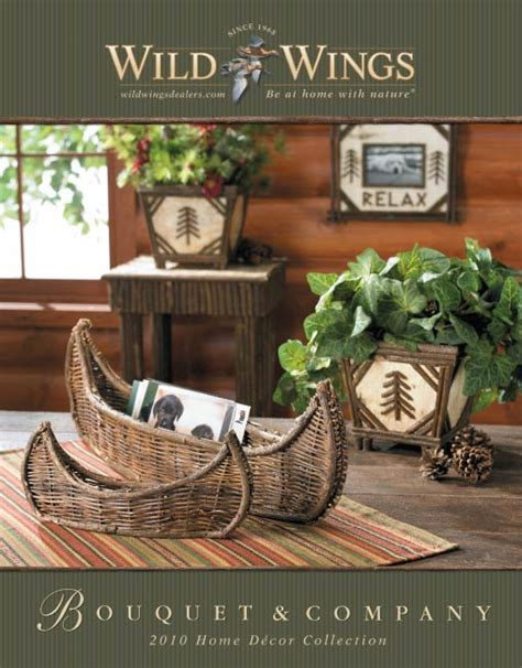 Catalog Home Decor Bouquet Co 2010 Home Decor Catalog
