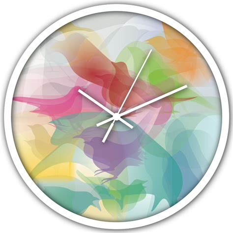 clock designs colourful clock designs