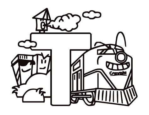 coloring pages with letter t letter t coloring pages to download and print for free
