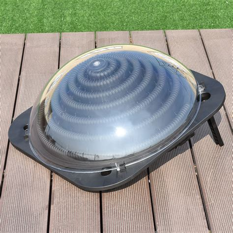 Water Heater Outdoor Ac black outdoor solar dome swimming pool water heater home