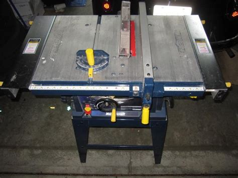 mastercraft 10 bench saw 10 quot mastercraft table saw duncan cowichan mobile