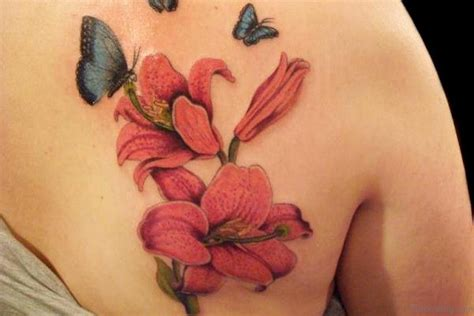 small lily flower tattoos 80 attractive tattoos