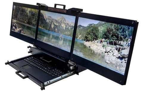 Server Rack Monitor by Dkm 173t Tk Trans2000