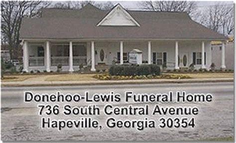 donehoo lewis funeral home hapeville hapeville ga