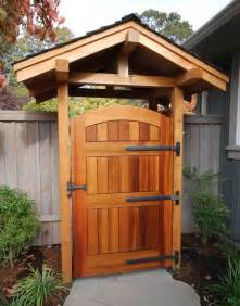 Outdoor Wood Gates How To Choose Outdoor Gate Hinges