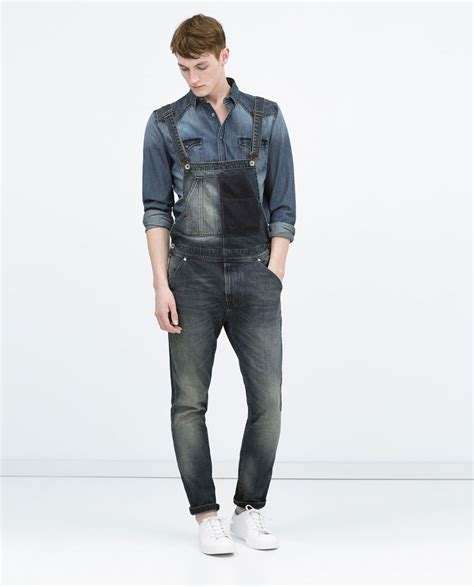 Zara Overall By Aqeela 1 1000 images about guys wearing overalls on