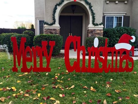 large merry christmas signs outdoors merry outdoor yard sign large