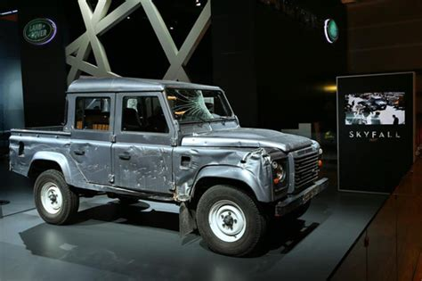 range rover truck in skyfall lr defender cab in bond pickuptrucks com