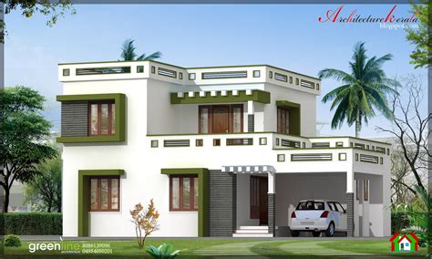 kerala house plans with elevation photos modern design