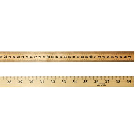 meter to meter stick with for storage rulers chl77590