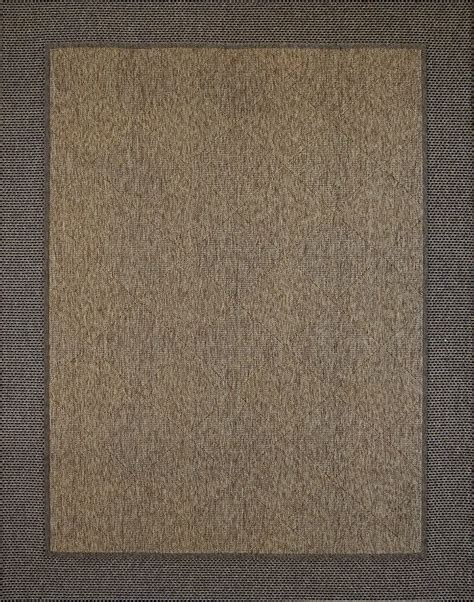 Black Outdoor Rug Black Border Rug Brown Chestnut Area Indoor Outdoor Rugs 5x7 8x10 9x9 Or 9x13