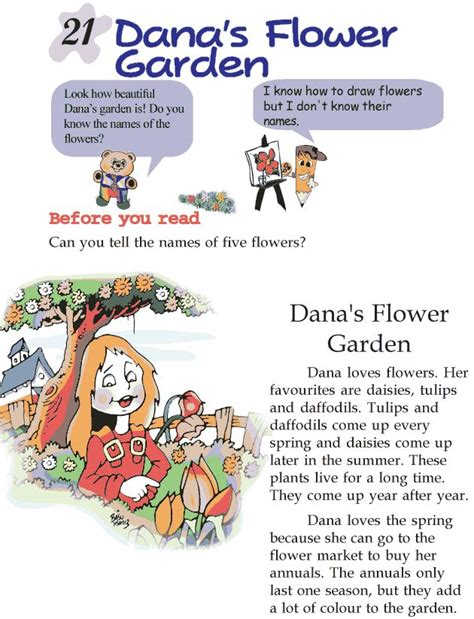 Komik Story From The Past 1 5 grade 2 reading lesson 21 stories dana s flower garden reading literature