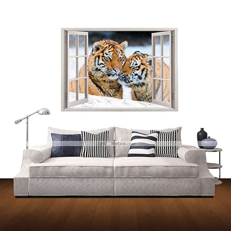 tiger home decor 3d wall stickers wall decals tiger home decor vinyl wall