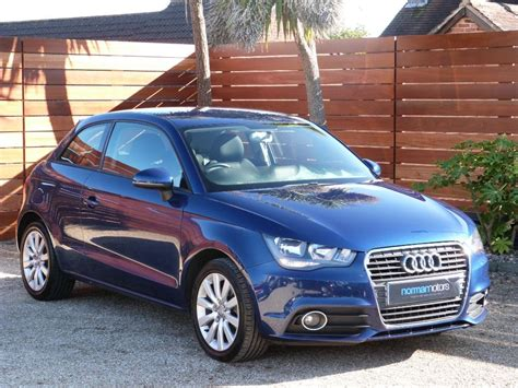 audi a1for sale used scuba blue metallic audi a1 for sale dorset