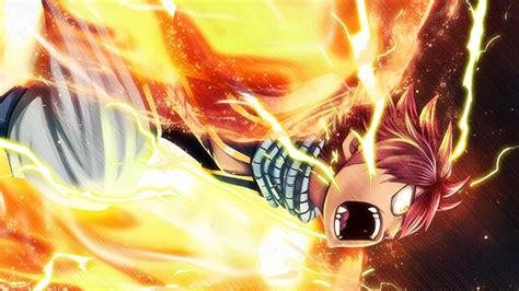 fairy tail natsu dragon wallpaper anime hd wallpaper