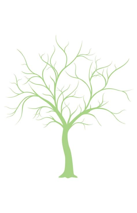 Tree Outline Green by Best 25 Tree Outline Ideas On Simply Image Silhouette Family And Diy Quilting Stencils