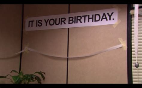 The Office Happy Birthday by Hey Hey Guys It S Birthday And Friend