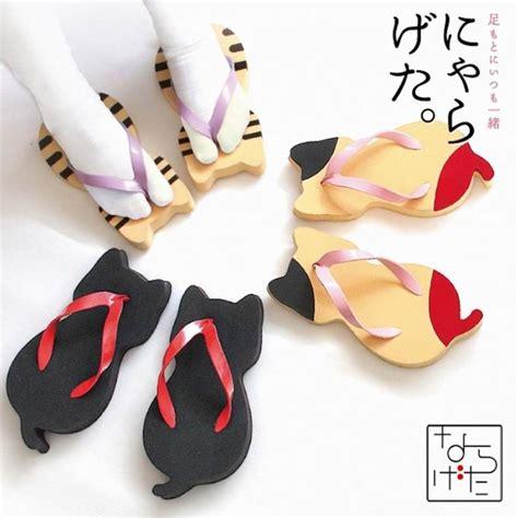 Sandal Sendal Kesehatan Tradisional Jepang nyarageta sandal tradisional jepang berbentuk kucing yang imut menggemaskan