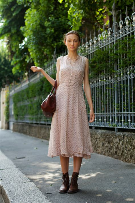 country style of the dresses on the street country style milan 171 the sartorialist