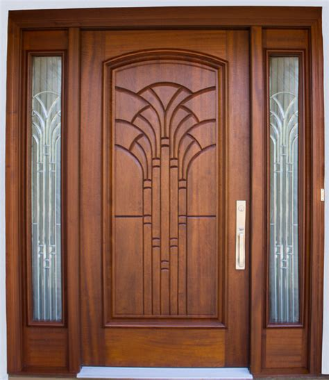 Decorative Glass Panels For Doors Designer Series Front Door With Decorative Side Glass Panels In Richmond Va Eclectic