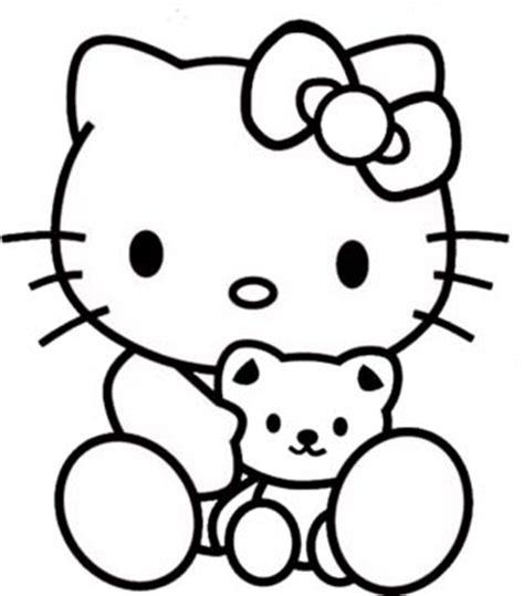 Mewarnai Gambar Hello Kitty Free Download   BLOG MEWARNAI