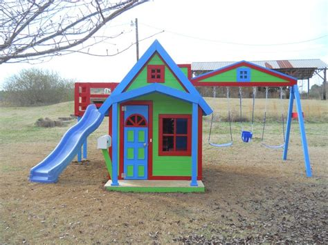 playhouses with slide and swings residence playhouse with secret passage swings slide