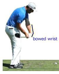 golf swing bowed left wrist 手首の動かし方 リスト ターン ゴルフの魅力をお伝えします