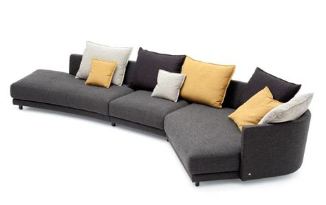 rolf benz sofa flexibles sofa quot onda quot von rolf benz sch 214 ner wohnen