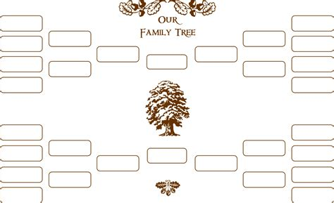 blank family tree templates blank family tree new calendar template site