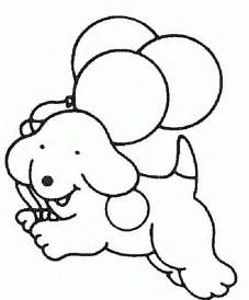 easy dog coloring pages animal coloring pages kids pages clip art