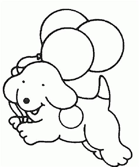 easy printable animal coloring pages easy dog coloring pages animal coloring pages of the