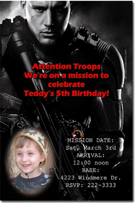 printable gi joe birthday cards paintball airsoft birthday invitations download jpg