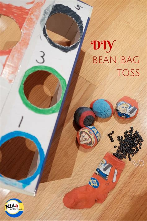 diy bean bag toss diy bean bag toss kidz activities