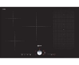 neff t51t86x2 electric induction hob black neff t51t86x2 integrated electric hob in black hobs
