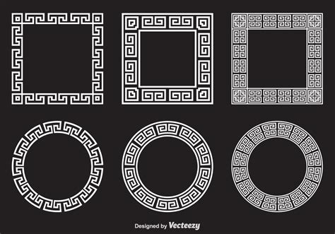 greek pattern brush free greek key vector frames download free vector art