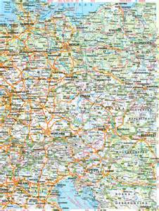 road maps only pictures road map of europe