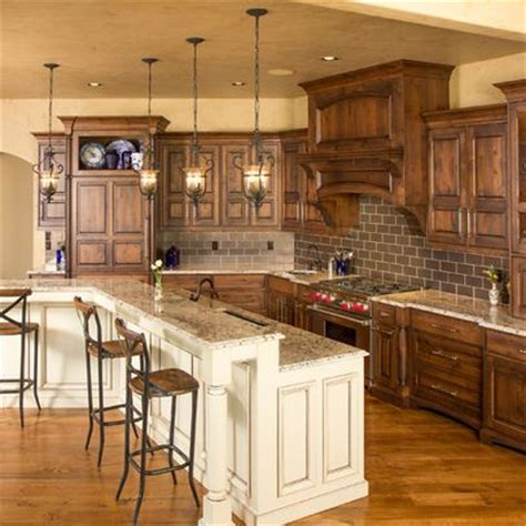 rustic style kitchen cabinets 1000 ideas about rustic kitchen island on pinterest