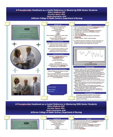 Nursing Poster Presentation Template Affordable Presentation Background Sles Free Poster Powerpoint Templates