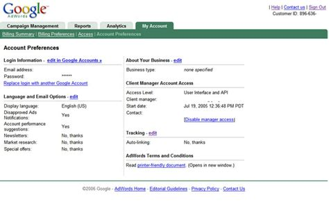my account inside adwords adwords 101 what s in my account part 3
