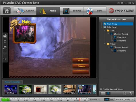 best dvd menu creator software evaluation and testing a useful dvd maker and