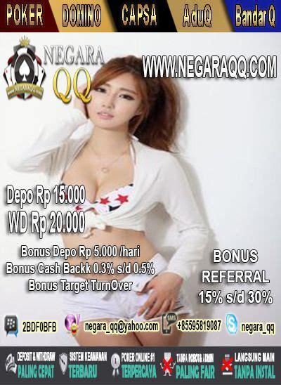 permainan terbaru  wwwnegaraqqcom bandarq
