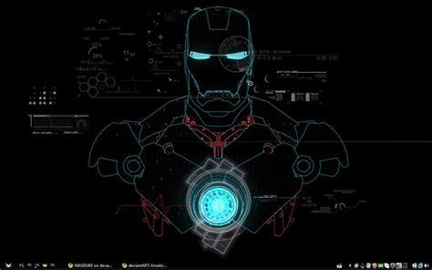 pc themes iron man my iron man desktop by masduke on deviantart