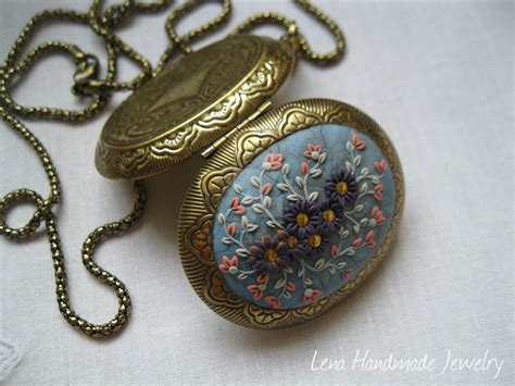 Handmade Jewelry Artist - gold medallion by lena handmade jewelry by
