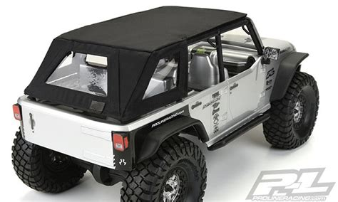 Jeep Rubicon Soft Top Pro Line Timberline Soft Top For Axial Scx10 Wrangler
