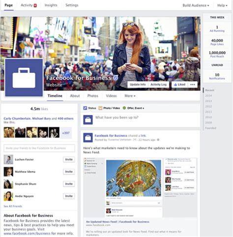facebook themes change layouts facebook s new page layout 2014 what matters to you