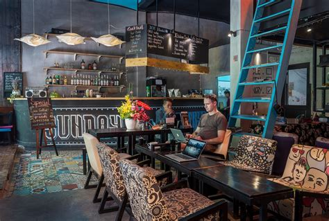 Interior Design Shops banksy cafe ho chi minh city vietnam a lot of cool