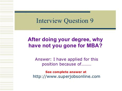 Why Mba Sle Answers by Top 10 Questions And Answers To Enhance