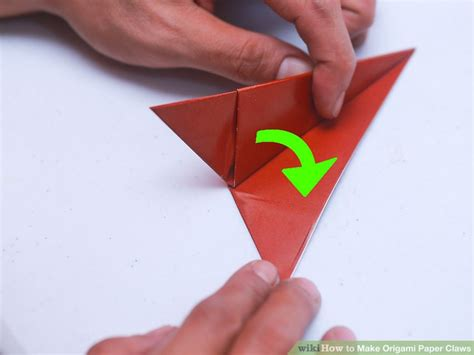 paper claws origami 3 ways to make origami paper claws wikihow