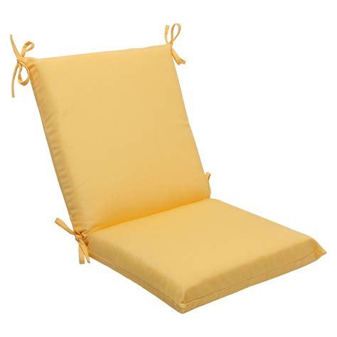 Sunbrella Chair Cushions by Sunbrella 174 Canvas Outdoor Squared Edge Chair Cushion Ebay