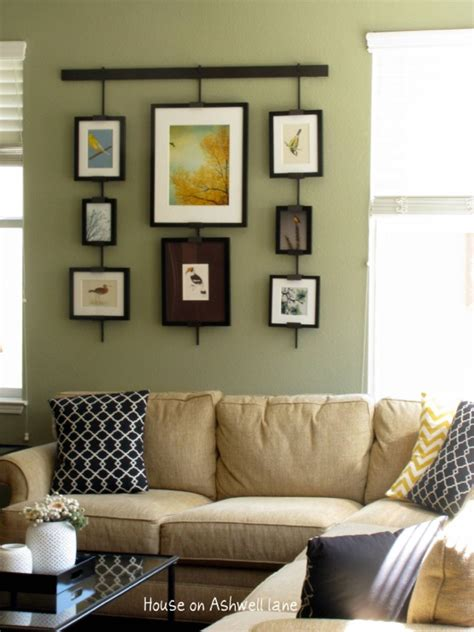 Pottery Barn Gallery Frames Living Room